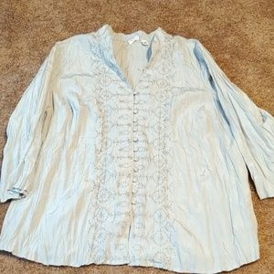 Button up blouse size 18/20